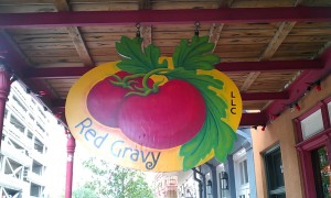 Red Gravy Sign