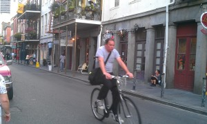 Guy on Bike