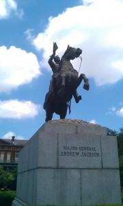 Major General Jackson Statue